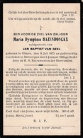Olmen, Antwerpen, 1935, Maria Hazendonckx; Van Geel - Imágenes Religiosas