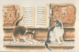 4080A   CHAT  NON ECRITE - Cats