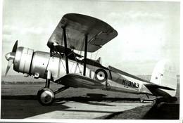 LEONIDES BRISTOL BULLDOG 2 SEATER   FLYING TEST BED   25 * 16 CM Aviation, AIRPLAIN, AVION AIRCRAFT - Aviación