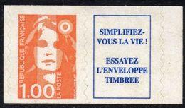 1996 MARIANNE DU BICENTENAIRE N° 3009 AVEC VIGNETTE  NEUF - Unused Stamps