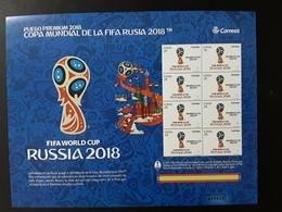 Spain 2018 MNH (**)  Soccer World Cup Fifa Russia 2018 - Wereldkampioenschap