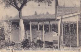 Camp De Beverloo Rucher D'Expériences Situé Dans Les Jardins De L'Hôtel Du Camp à Bourg-Léopold  Circulée En 1907 - Leopoldsburg (Kamp Van Beverloo)