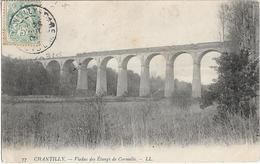 CPA  De  CHANTILLY  (60)  -  Viaduc  Des  Etangs  De  Comelle    //  TBE - Chantilly