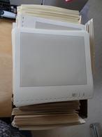 Lindner 25 Stück T Falzlos Blanko 802104 1er Blätter (7537) - Albums & Bindwerk