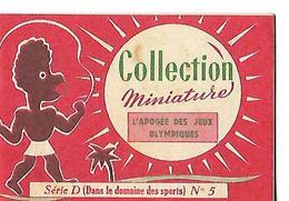Livret Biscottes JOSEPH MILLIAT / Collection Miniature 16 Pages /  L'APOGEE DES JEUX OLYMPIQUES / Série D N°5 - Advertising