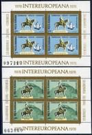 Intereuropa  - Romania 1978 - 2 Sheet - European Ideas