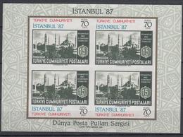 TURKIJE - Michel - 1985 - BL 24 - MNH** - 1921-... Republic