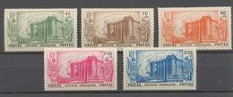 Colonies Guyane  Série Bastille  N°152 à 156 Neuf * Cote 77€ N3206 - Guyane Française (1886-1949)