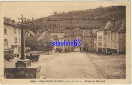 Chaudes-Aigues - Place Du Marché - Other Municipalities
