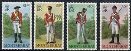 Military Uniforms  - Montserrat 1978 - Set MNH** - Montserrat