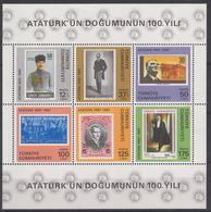 TURKIJE - Michel - 1981 - BL 19 - MNH** - 1921-... Republic