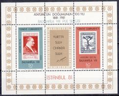 TURKIJE - Michel - 1981 - BL 20 - MNH** - 1921-... Republic