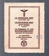 Petite Publicité LABORATOIRES MIDY  (PPP13955) - Pubblicitari