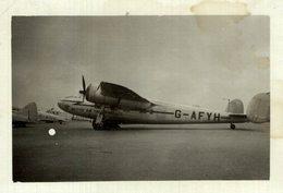 De Havilland DH.95 Flamingo   9 * 6 CM Aviation, AIRPLAIN, AVION AIRCRAFT ROYAL AIR FORCE - Aviación