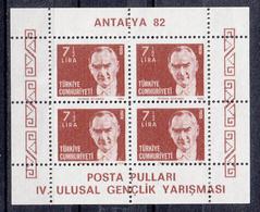 TURKIJE - Michel - 1982 - BL 22A - MNH** - 1921-... Republic