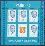 TURKIJE - Michel - 1983 - BL 23 - MNH** - 1921-... Republic