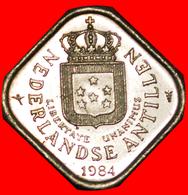 # BEATRIX (1980-2013): NETHERLANDS ANTILLES ★ 5 CENTS 1984! LOW START ★ NO RESERVE! - Antilles Neérlandaises