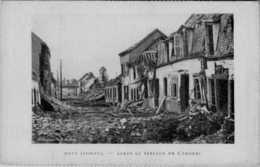 80] Somme > Roye   APRES BOMBARDEMENT / RUE SAINT PIERRE  :/LOT 522 - Roye