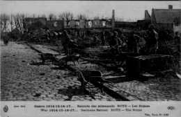 80] Somme > Roye   APRES BOMBARDEMENT   :/LOT 522 - Roye