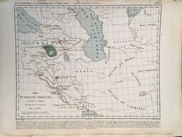 1849 HOUZE MAP OF THE EARTHLY PARADISE / ARMENIA - Geographische Kaarten
