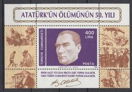 TURKIJE - Michel - 1988 - BL 27 - MNH** - 1921-... Republic