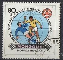 PIA  -1982 :  MONGOLIA  - Coppa Del Mondo Di Football - (Yv 1178) - Mongolia