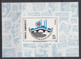 TURKIJE - Michel - 1978 - BL 18 - MNH** - 1921-... Republic