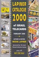CATALOGO ESPECIALIZADO DE TARJETAS TELEFONICAS DE ISRAEL DE 98 PÁGINAS (NUEVO-MINT) - Tarjetas Telefónicas
