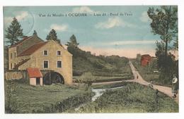 Ocquier Vue Du Moulin à Eau Lieu Dit Fond De L'eau Carte Postale Ancienne 1927 Watermolen PK - Clavier
