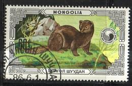 PIA  -1986 :  MONGOLIA  - Animali Protetti - (Yv 1479) - Mongolia