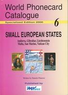 CATALOGO DE TARJETAS TELEFONICAS DE SMALL EUROPEAN STATES DE 82 PÁGINAS (SEMINUEVO) MVCARDS - Tarjetas Telefónicas