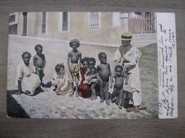 Tarjeta Postal - Postcard - Pickaninnies - Porto Rico - Stamps - Puerto Rico