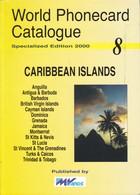 CATALOGO DE TARJETAS TELEFONICAS DE CARIBBEAN ISLANDS  DE 170 PÁGINAS (SEMINUEVO) MVCARDS - Tarjetas Telefónicas