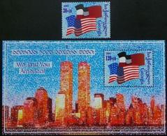 Georgia 2001. We Trust You America! National Flags Of USA And Georgia.  MNH - Georgia