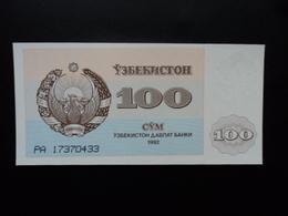 OUZBÉKISTAN : 100 SOM   1992   P 67a     NEUF - Uzbekistán