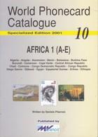 CATALOGO DE TARJETAS TELEFONICAS DE AFRICA Nº1  DE 98 PÁGINAS (SEMINUEVO) MVCARDS - Tarjetas Telefónicas