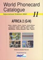 CATALOGO DE TARJETAS TELEFONICAS DE AFRICA Nº2  DE 98 PÁGINAS (SEMINUEVO) MVCARDS - Tarjetas Telefónicas