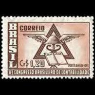 BRAZIL 1953 - Scott# 739 Accounting Cong. Set Of 1 MNH - Brazil