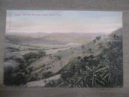 Tarjeta Postal - Postcard - Cayey From The Guayama Road - Porto Puerto Rico - Puerto Rico
