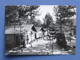 Cartolina Silvana Mansio - Villaggio Mancuso - Albergo Il Roseto - 1962 - Cosenza