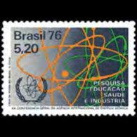 BRAZIL 1976 - Scott# 1475 Atomic Agency Set Of 1 MNH - Brazil