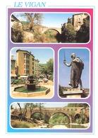Le Vigan (Gard)-Multivues-vieux Pont Sur L'Arre-vieille Fontaine-pont De La Croix-Chevalier D'Assas - Le Vigan