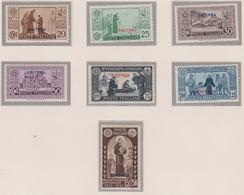 Eritrea 1931 San Antonio 188/194 MH - Eritrea