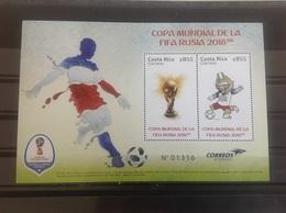 Costa Rica - Postfris / MNH - Sheet WK Voetbal 2018 - Costa Rica