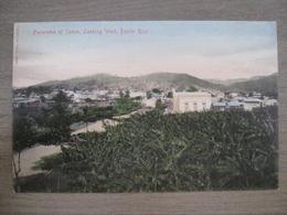 Tarjeta Postal - Postcard - Panorama Of Yauco Looking West - Porto Puerto Rico - Antilles - Puerto Rico