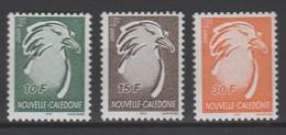 """Nouvelle Calédonie 2003 :    Série Courante """"le Cagou - Lavergne"""" - 3 Valeurs  Neuves ** - - Ungebraucht"""