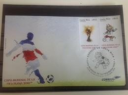 Costa Rica - Postfris / MNH - FDC WK Voetbal 2018 - Costa Rica