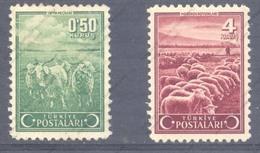 Turquie, Yvert 974&978, Scott 897&901, MNH - 1921-... Republic