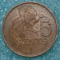 Trinidad And Tobago 5 Cents, 1981 - Trinité & Tobago