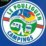A.C LE POULIGUEN Camping Le CLEIN- Les MOUETTES - Autocollants